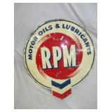 26X30 RPM MOTOR OIL SIGN