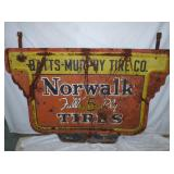 40X60 NORWALK TIRES SIGN