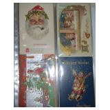 3RD VIEW POSTCARDS W/SANTA CLAUS