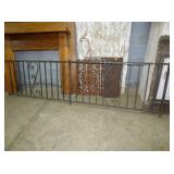32X112 WROUGHT IRON FENCING