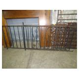 32X56 WROUGHT IRON FENCING