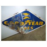 32X58 PORC. GOODYEAR TIRES SIGN