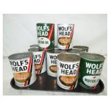 OLD STOCK 1QT. WOLFS HEAD MOTOR OIL