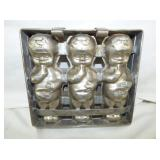 9X9 DOLL CHOCOLATE MOLD