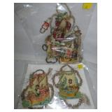 EARLY DIE CUT SANTAS & OTHERS
