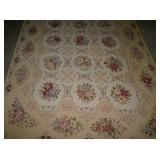 3RD VIEW EARLY HAND LOOMED RUG