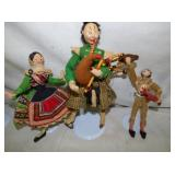 COLL. HANDMADE DOLLS 10IN.-11IN.