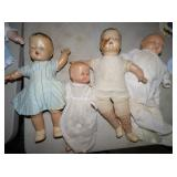 EARLY COMPOSITION DOLLS