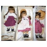 WEST GERMAN GOTZ DOLLS W/BOXES