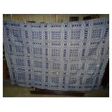 HAND LOOMED COVERLET