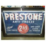 36X58 PRESTONE ANTI FREEZE BANNER