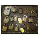 COLLECTION PAD LOCKS