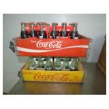 COCA COLA CRATES W/BOTTLES
