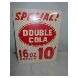 DOUBLE COLA 16OZ. 10 CENT CARDBOARD