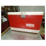 EARLY COCA COLA FISHTAIL COOLER