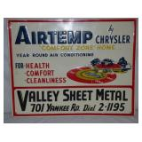 24X30 EMB AIRTEMP CHRYSLER SIGN