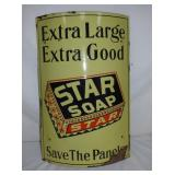 18X28 PORC STAR SOAP CURVED SIGN