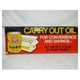18X48 PHILLIPS CARRY OUT OIL SIGN
