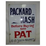 21X30 PROC PACKARD NASH SIGN