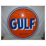 6FT PORC GULF DEALER SIGN