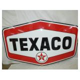 54X86 PORC TEXACO 6 SIDED SIGN