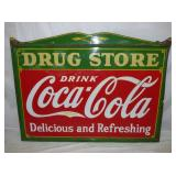 45X60 PROC COCA COLA DRUG STORE SIGN