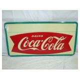 37X72 COKE FISHTAIL SIGN
