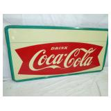 2ND VIEW COKE FISHTAIL SIGN
