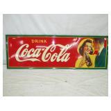 18X54 1941 COCA COLA SIGN