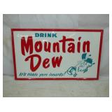 2ND VIEW MOUNTAIN DEW SIGN