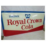 48X96 1964 ROYAL CROWN COLA SIGN