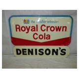 2ND VIEW CLOSEUP ROYAL CROWN SIGN