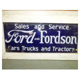 27X60 PORC FORD-FORDSON SIGN