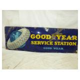 24X72 PORC GOOD YEAR SERVICE SIGN