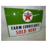 2ND VIEW TEXACO FARM LUBRICANTS SIGN