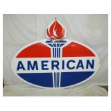58X72 1965 PORC AMERICAN SIGN