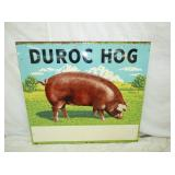 44X48 DUROC HOG SIGN