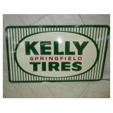 28X48 EMB KELLY TIRES SIGN