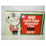 19X29 NOS SAFETY CONTRACTORS SIGN
