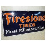 2ND VIEW CLOSEUP EARLY FIRESTONE TIRE