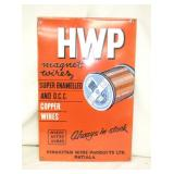 12X18 PORC HWP WIRE SIGN