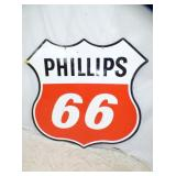 48IN PHILLIPS 66 SHEILD SIGN