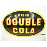 36X52 1953 DOUBLE COLA BUBBLE SIGN