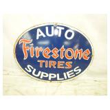 18X25 PORC AUTO FIRESTONE SUPPLY SIGN