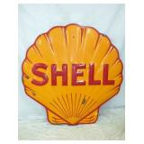 48IN PORC EMB SHELL CLAM SHELL