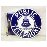 11X12 PORC PUBLIC TELEPHONE FLANGE