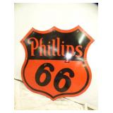 30IN PORC. 1955 PHILLIPS 66 SIGN