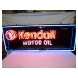 24X58 3 COLOR KENDALL MOTOR OIL NEON