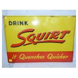 19X27 1947 EMB. SQUIRT SIGN