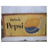 36X67 EMB. DRINK PEPSI SIGN